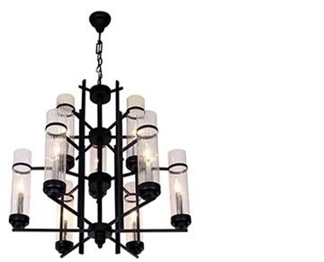 נריה 6+3 מנורת תלייה מזכוכית